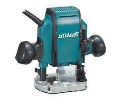 Makita 1-1/4 HP Plunge Router 27,000 RPM with Case