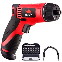 NoCry 10 N.m Cordless Electric Screwdriver - with 30 Screw B