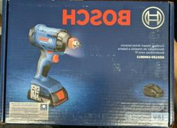 Bosch 18V 1/4 In. and 1/2 Socket-Ready Impact Driver Kit GDX