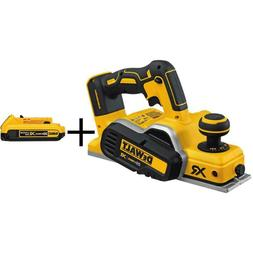 20-Volt Max Xr Lithium-Ion Cordless 3-1/4 In. Planer  With B