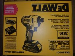 DEWALT 20V MAX Compact Brushless 1/4 in. Impact Driver DCF78