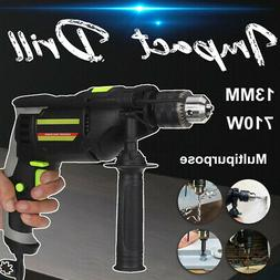 710W Electric Impact Drill Rotary Hammer Concrete Punch Chis