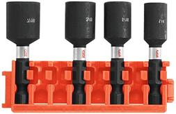 Bosch CCSNSV17804 4Piece 1-7/8 In. Nutsetters with Clip for