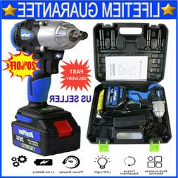 Cordless Impact Wrench 1/2 inch Driver 21V 460N.m High Torqu