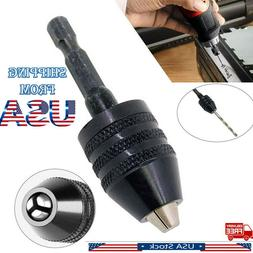 Drill Chuck Screwdriver Impact Driver Adaptor Hex Shank Dril