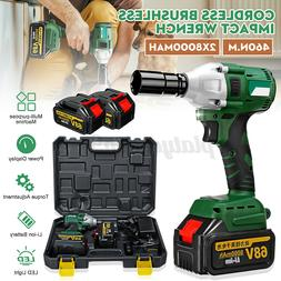 Electric Cordless Impact Wrench Brushless 1/2''Driver 320Nm/
