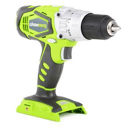 Greenworks 3700502A 24V Cordless Lithium-Ion 2-Speed 1/2 in.