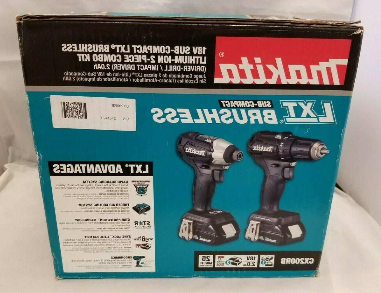 Makita LXT 2-Piece Combo Kit.