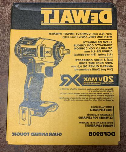new 3 8 impact wrench xr dcf890b