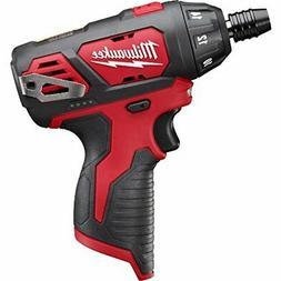 Milwaukee 2401-20 M12 12-Volt Lithium-Ion Cordless 1/4 in. H