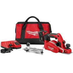 M18 18-Volt Lithium-Ion 3-1/4 In. Cordless Planer Kit With O