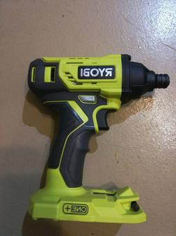 New RYOBI GENUINE 18V ONE+ Impact Driver with bit P235A