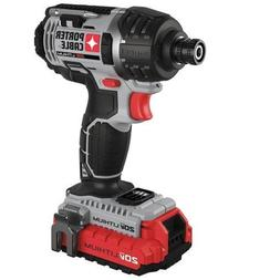 Porter-Cable PCCK640LB 20V MAX Cordless Lithium-Ion 1/4-in H