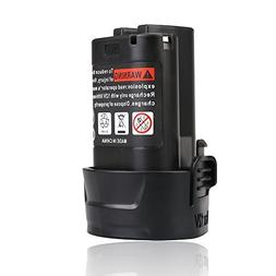 Flylinktech 2000mAh 12V Replacement Battery For Makita BL101