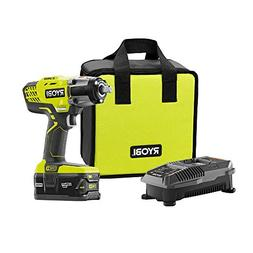 RYOBI 1/2 in. Impact Wrench Kit P261 1/2 in. 3 Speed - 4.0 A