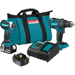 Makita XT279S 18V LXT Lithium-Ion Brushless Cordless 2-Pc. C